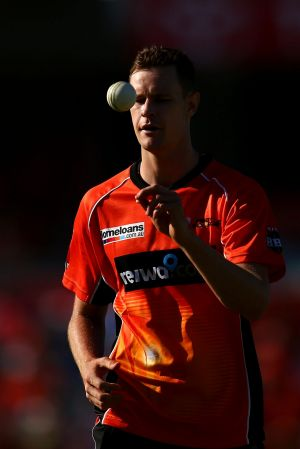 Jason Behrendorff has been in solid form with Perth Scorchers.