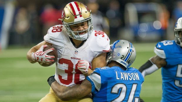 In favour: Jarryd Hayne has supporters at the 49ers.