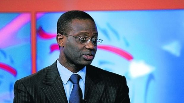 """Credit Suisse chief executive Tidjane Thiam said the bank was """"very confident"""" about reaching its target of cutting ..."""