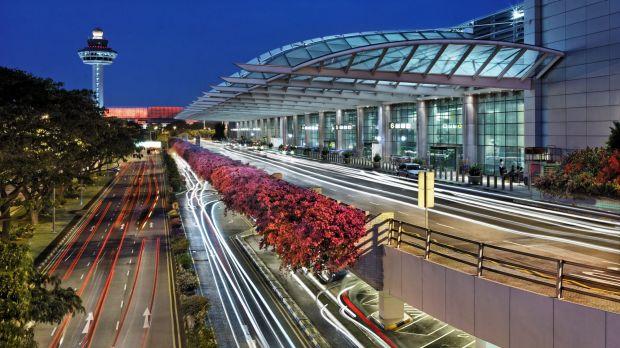 Terminal 2 at Changi Airport. The automated machines are now available at the airport's food court.