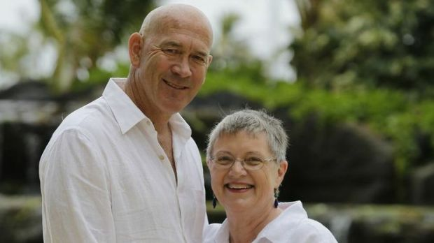 Richard Grellman with his wife Suellen, who was diagnosed at age 61 with young onset Alzheimer's disease in 2011.