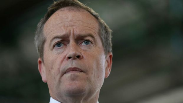 Opposition Leader Bill Shorten called for a ban on anonymous donations over $50 and 'donation splitting'