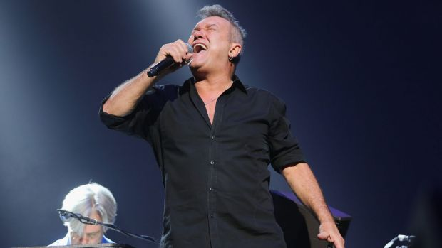 Jimmy Barnes headlines the Australia Day Eve concert on the lawns of Parliament House.