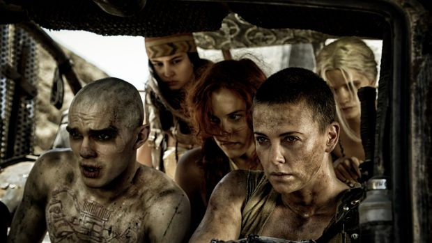 Charlize Theron as Imperator Furiosa in <i>Mad Max: Fury Road</i>.