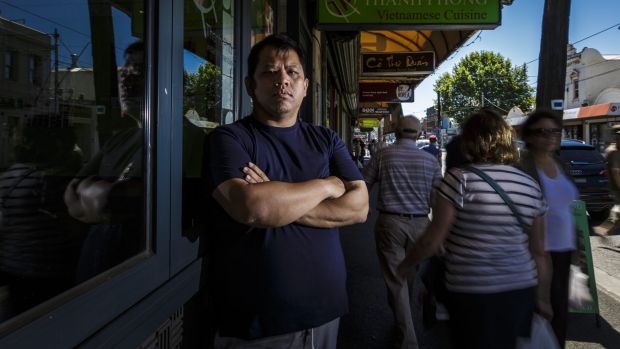 Victoria Street Business Association president, and owner of restaurant Thanh Phong, Meca Ho, is opposed to a ...