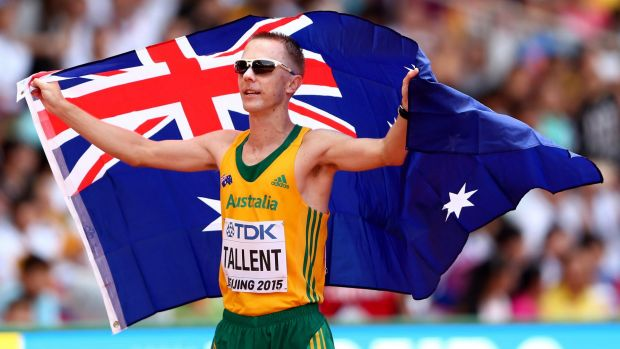 "Australia's newest gold medallist Jared Tallent says it would be a ""disgrace"" if the Russians are allowed to compete at Rio."