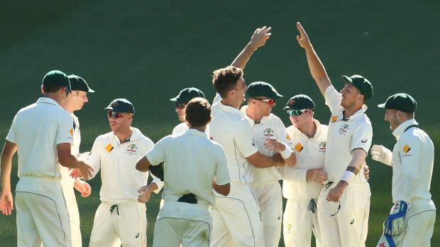DRS problems didn't affect result: Issues with the referral system didn't take any gloss off Australia's win.