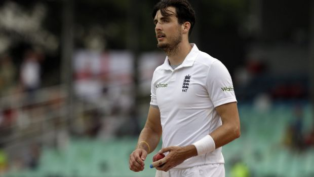 """We are in a fantastic position to try and press for that victory"": Steven Finn."