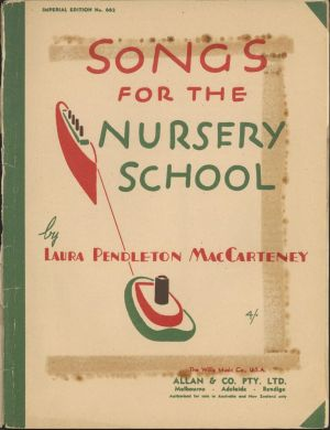 The song first appeared in an earlier edition of this book.