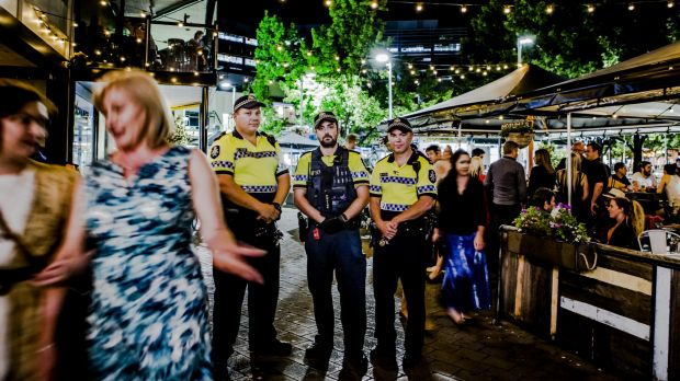 Revellers can expect bolstered police and paramedic crews in Civic for New Year's Eve celebrations. ACT Policing's ...