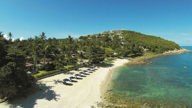 An Australian tourist has died while swimming off Thailand's resort island of Koh Samui
