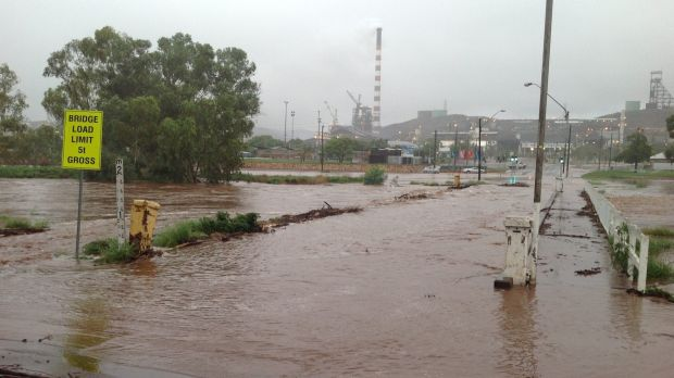 Many areas remain in flood around the Mount Isa region