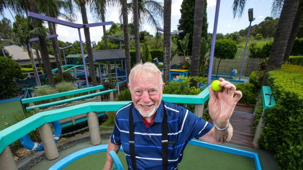 Tom Wykoff built the Ermington Putt Putt course in 1969.