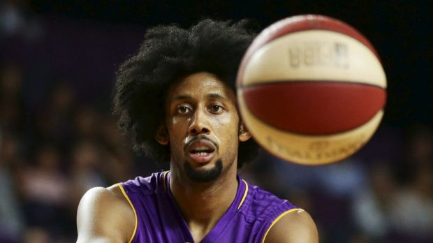 Big effort: Josh Childress top-scored in the loss.