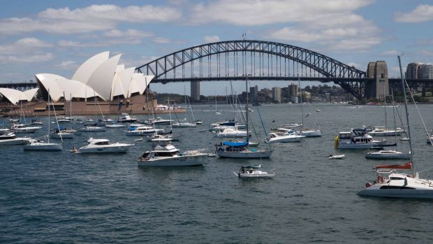Sydney's economic growth rate is the country's best.