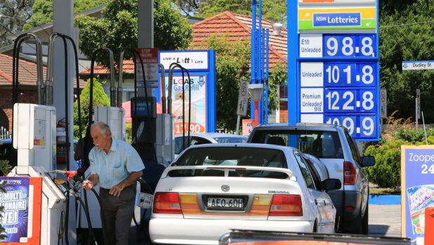 The AP service station in Punchbowl was selling E10 for 98.8 cents a litre.