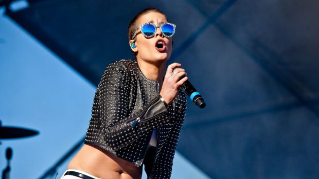 US singer Halsey among best on ground at the relocated Falls Festival.