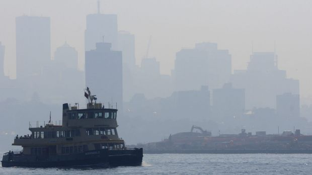 Pollution concerns: latest data shows Sydney is hardly a pristine place to live.