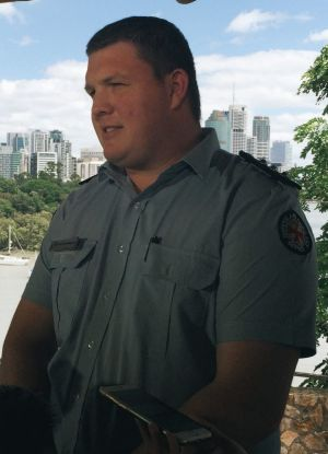 Queensland Ambulance Senior Operations Supervisor Glen Morrison.