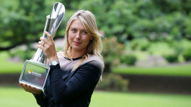 Maria Sharapova, winner of the Brisbane Internmational in January 2015, says the event is one of her favourites.