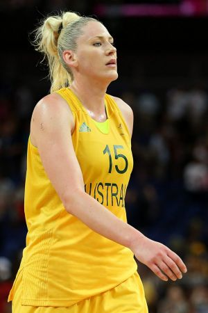 Lauren Jackson during the 2012 London Olympics.