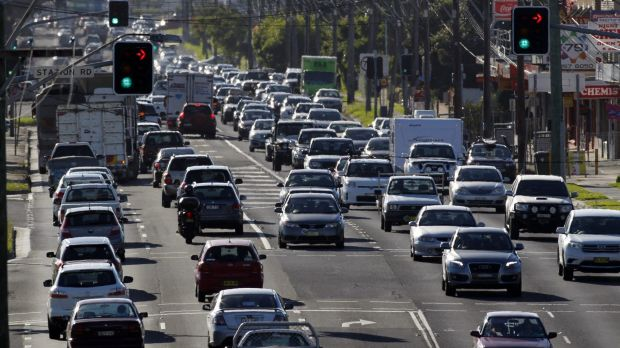 Holiday traffic: the RACQ said people should pack their patience when heading north or south on the long weekend.