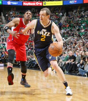 Solid performer: Joe Ingles has cemented his place with Utah Jazz.