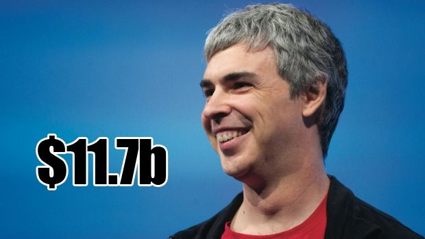 Larry Page, co-founder and chief executive officer at Alphabet.