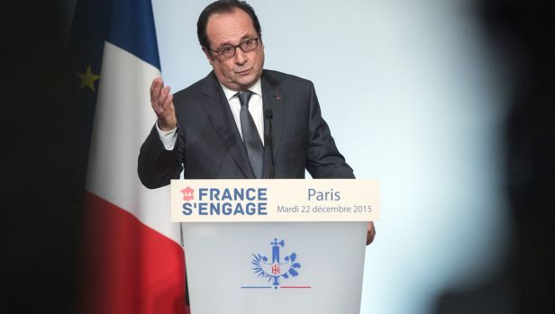 French President Francois Hollande in Paris last week.