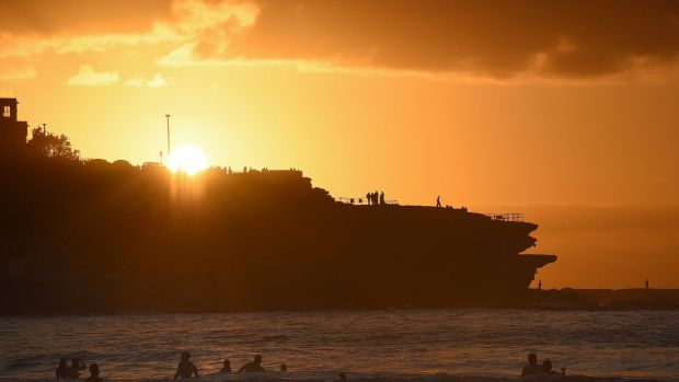 The sun rising over Bondi on New Year's Day - is about to make a comeback.