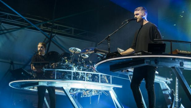 English electronic duo Disclosure.