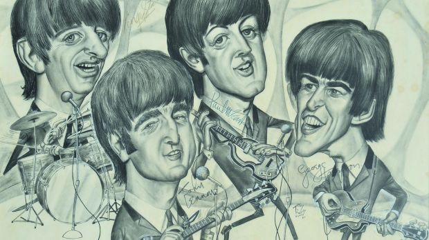 The Beatles, by Tony Rafty.