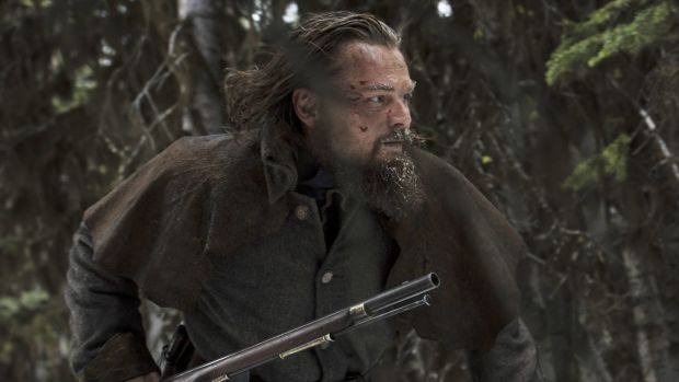 Leonardo DiCaprio plays Hugh Glass, a legendary figure in 19th-century American history who was mauled by a bear and ...