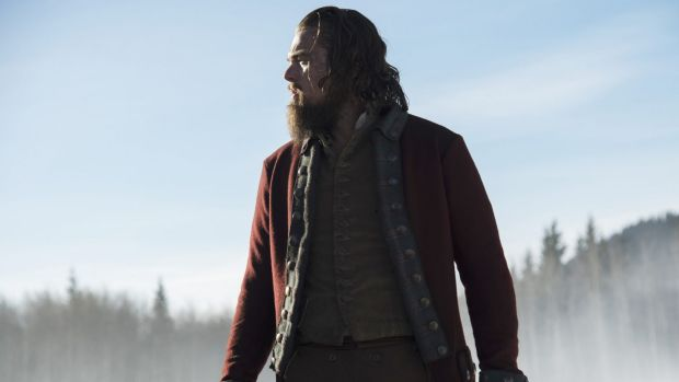Gritty and powerful ... Leonardo DiCaprio's performance as wilderness trapper and guide Hugh Glass is already generating ...