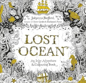 Colouring books such as Lost Ocean are part of the mindfulness movement.
