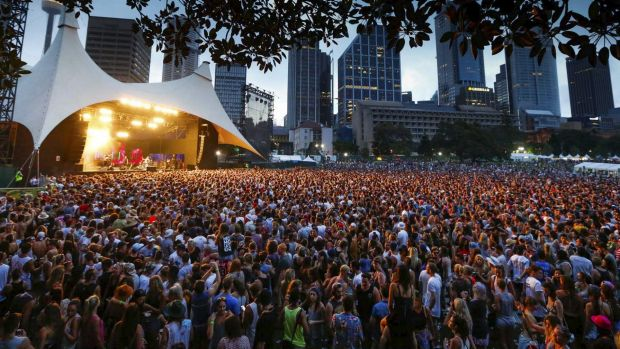 Field Day attracted more than 28,000 people to The Domain.