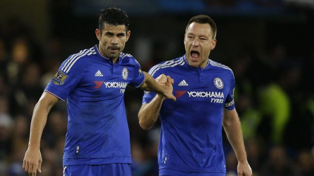 He can't do it all: Chelsea manager Guus Hiddink has called for more goal-scoring support for Diego Costa.