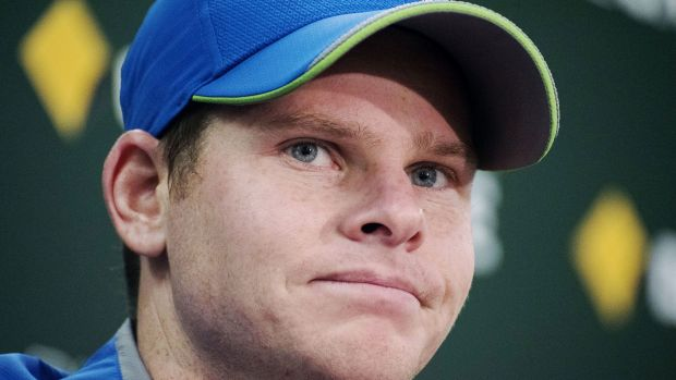 In form: Australian captain Steve Smith is shooting for three straight Sydney Test tons.