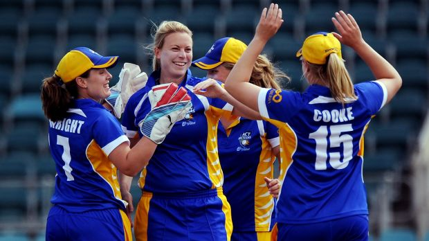 Former ACT Meteor Charlotte Anneveld came out of retirement to join the Sydney Thunder in the women's BBL.