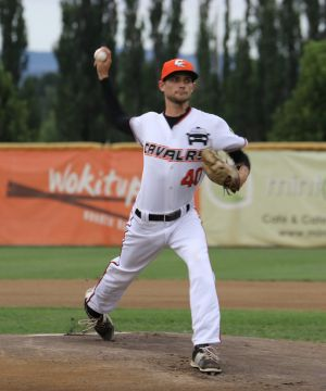 Louis Cohen had a strong debut for Canberra Cavalry on Friday night.
