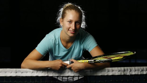 Rising star: Daria Gavrilova exceeded all expectations in 2015.