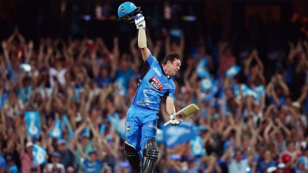 Big pay day? Travis Head of the Adelaide Strikers could be in line for big money in the Indian Premier League.