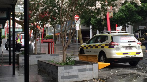 Chinatown Mall, Fortitude Valley where the alleged assault occurred.