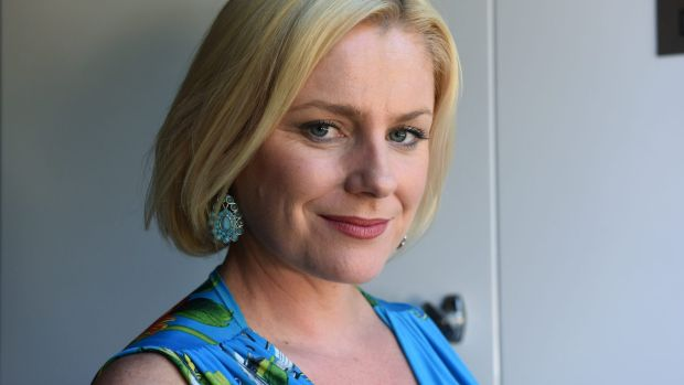"""Helen Dallimore loves going to the beach. """"The ocean cures all ills."""""""