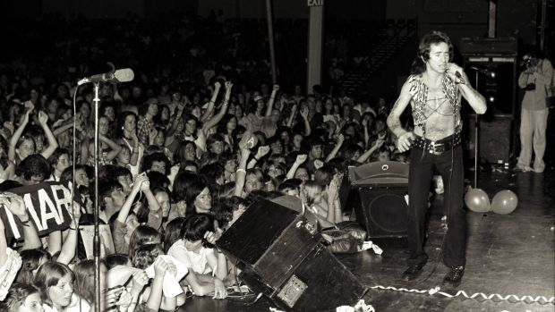 AC/DC in Sydney in 1976.