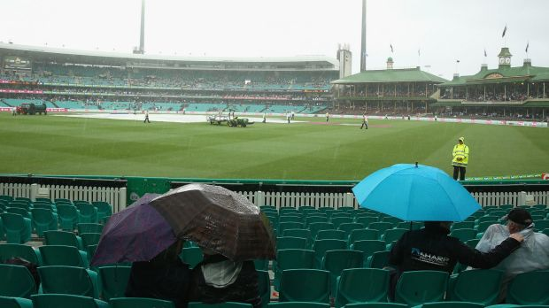 Sunday's scenes at the SCG are likely to be repeated on both Monday and Tuesday.