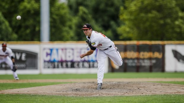 Scott Cone had a forgettable day at the office for Canberra Cavalry against Perth on Sunday.