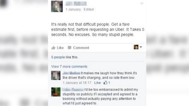 Some people took to Facebook to defend the pricing system