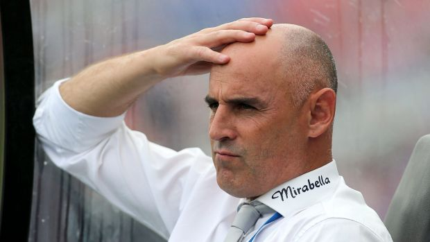 Undermanned: Kevin Muscat's Victory side will face league leaders Brisbane on Friday.