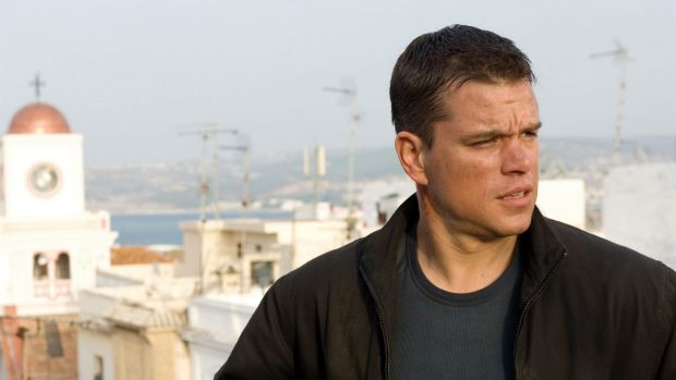 Matt Damon in 2007's The Bourne Ultimatum.